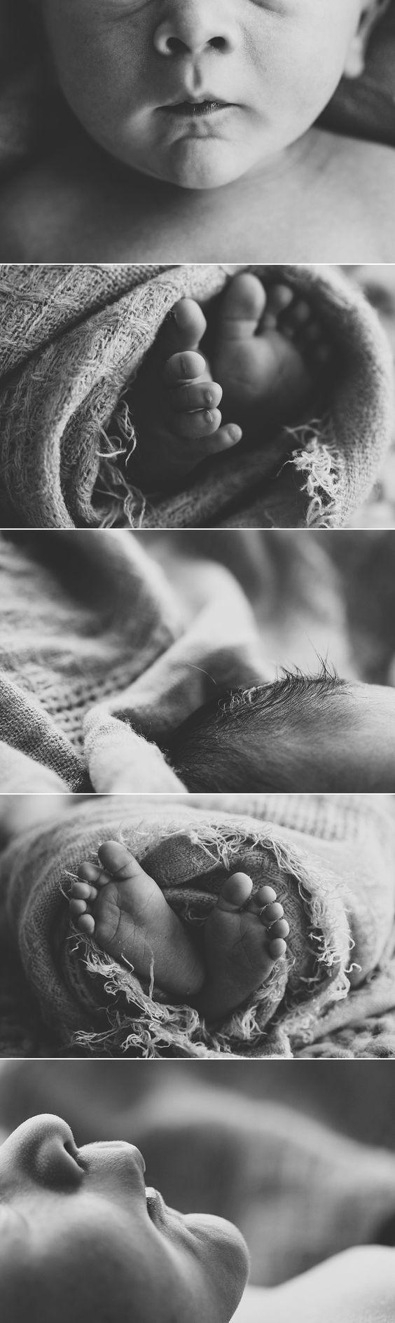 newborn photography, macro shots Baby photography ideas
