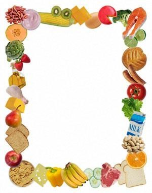 food borders borders free stockphotopro images food objects photos of ...