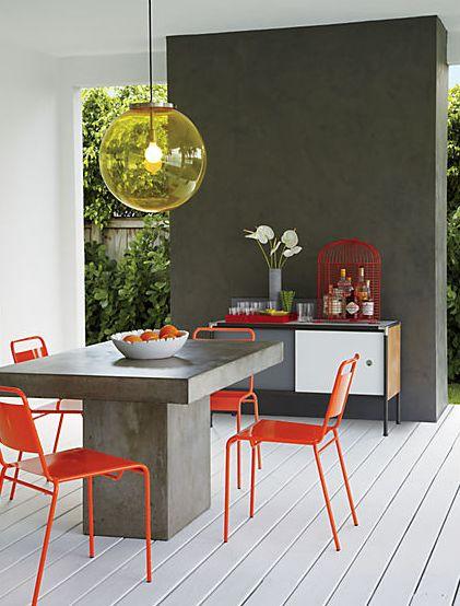 retro inspired: Fuze Dining, Dining Room, Grey Dining Table, Diningroom, Dining Tables