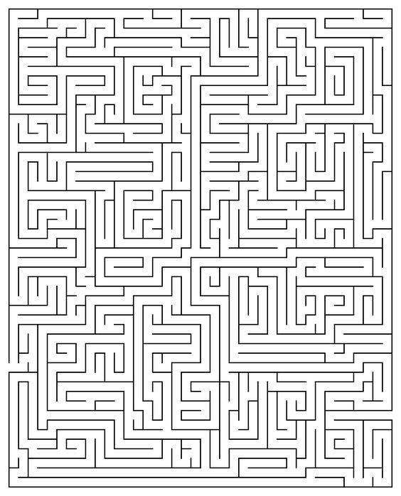 Printable Maze Puzzles for Adults | Printable Maze 20 | mazes ...