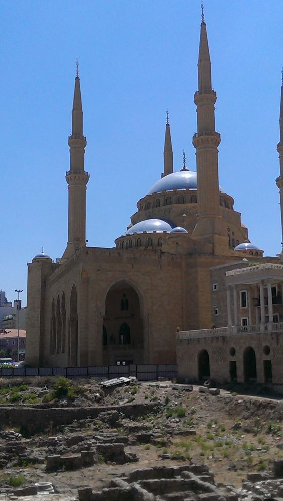 Mohammad Al-Amin Mosque Beirut August 2013