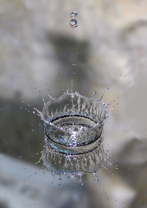a crown of a drop, made of plastic.  Why can't I find one?: