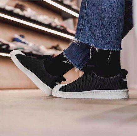 interior Volverse toxicidad  New Arrival Street Shoes 2017 Unisex adidas Originals Superstar BW3S Slipon  Core Black Core Black Off Whi… | Adidas originals superstar, Street shoes,  Boys sneakers
