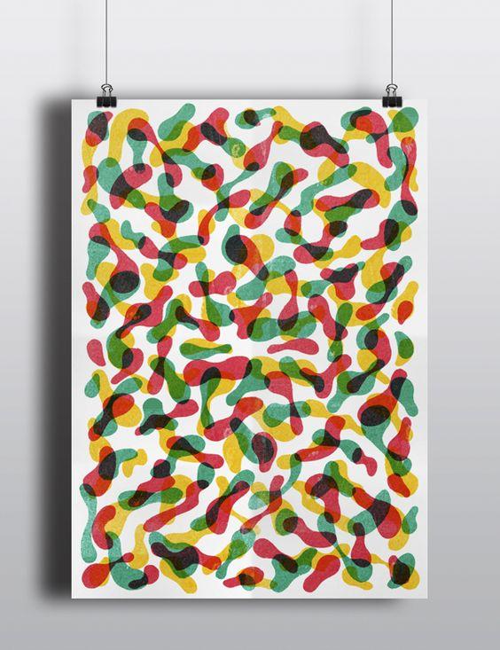 Patterns by Tatiana Boyko, via Behance