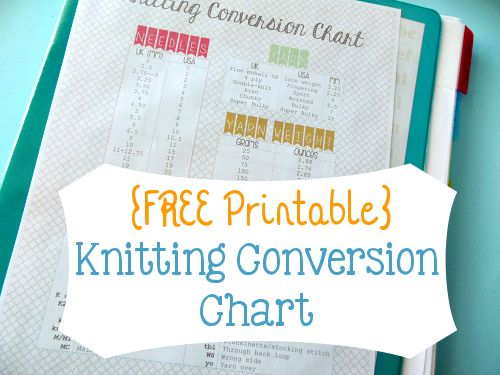 Knitting Pattern Conversion Calculator : Weights, The ojays and Desks on Pinterest