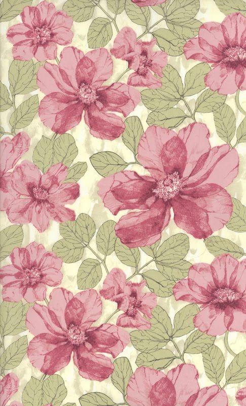 Les tissus Liberty: Floral Patterns, Liberty Print, Crafts Papel Patterns, Patterns Textile Wallpapers, Liberty Floral, Color Palette