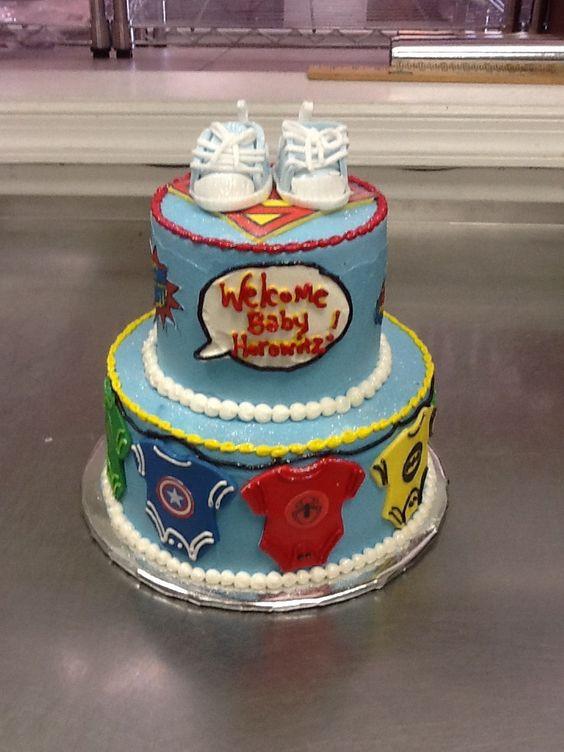 hero baby baby shower cakes shower cakes heroes showers baby showers