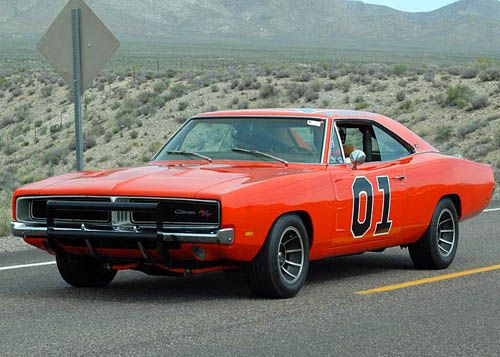 '69 Charger. The good old General Lee.