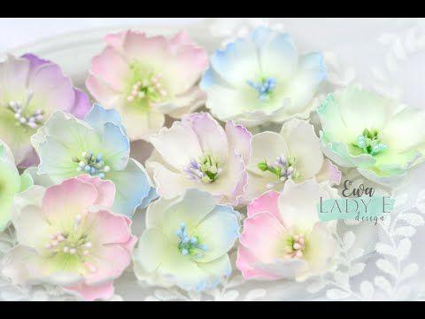 Kurs Na Kwiaty Z Foamiranu Foamiran Flowers Tutorial Lady E Design Dies Youtube Dekorativnye Podelki Ukrasheniya Cvety