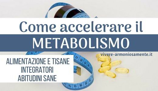 integratori per accelerare il metabolismo in farmacia