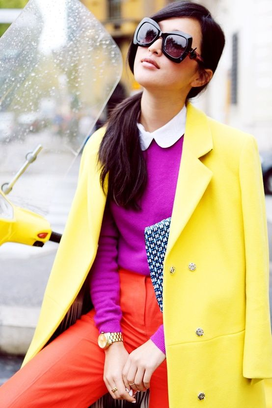 The color block outfit will make a special and unique look for women. You can wear several bright colors at the same time and still look very chic. But it may need a lot of confidence to pull it off. There're many different patterns like stripes, checks and floral prints for your choice. Today, let's[Read the Rest]: