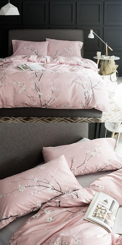 Cherry Blossom Bliss Duvet Cover Set Bedding Duvet Cover Sets
