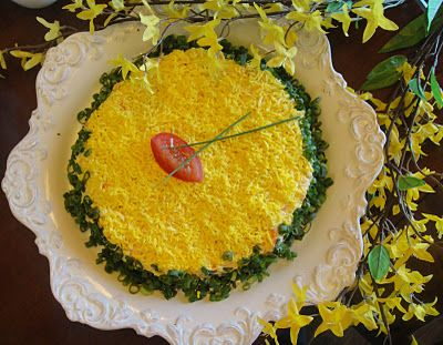 Mimosa (Russian Tuna Salad)