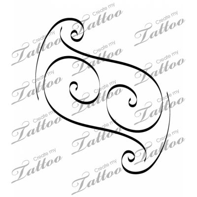 intertwined letter js custom tattoo something like this