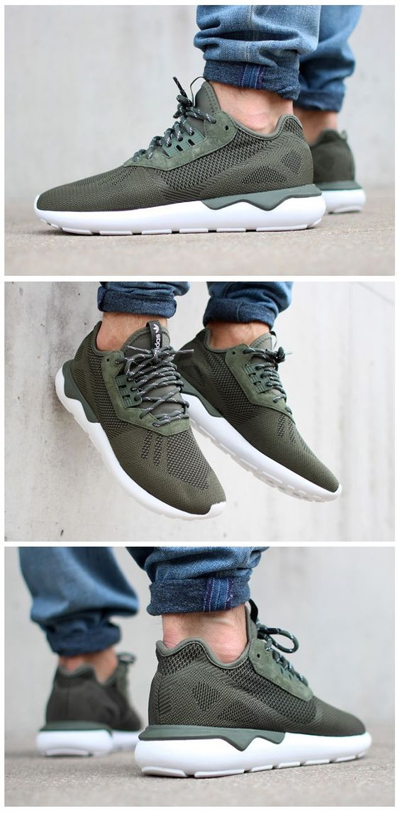 adidas Originals Tubular Woven: Green