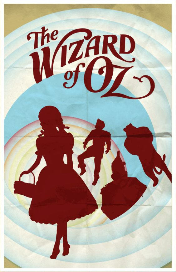 Minimalist // Movie Friday: 14 'The Wizard of Oz' Alternative Movie Posters