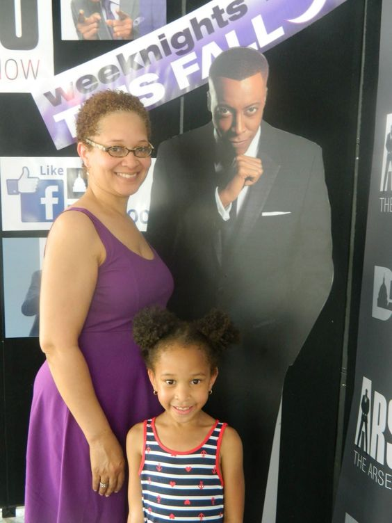 Me and my daughter at the Safeway BBQ Battle in Washington, D.C.
