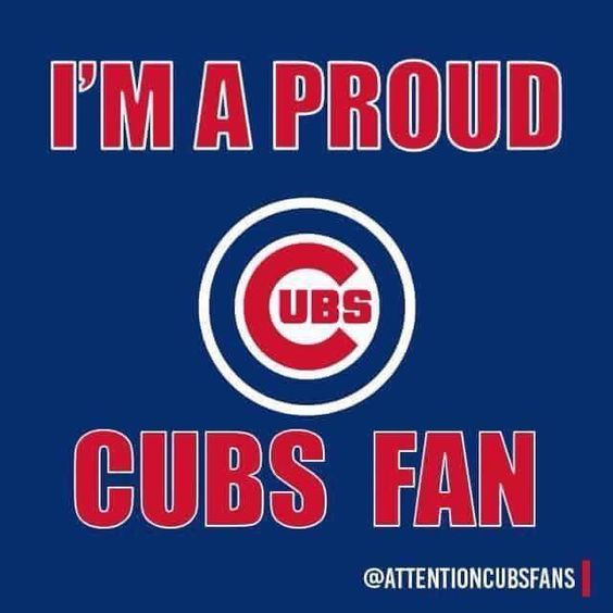 What is one thing that makes you a proud Cubs Fan??