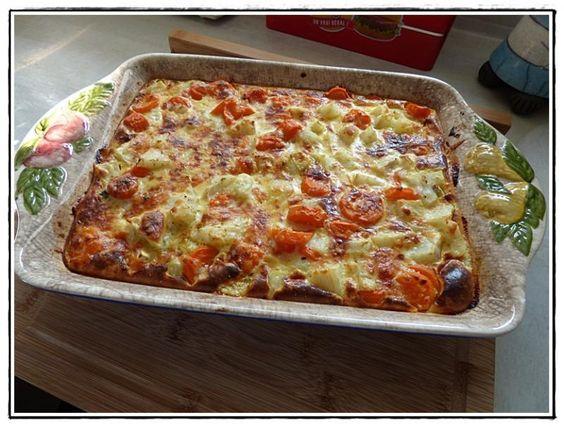 Pizza legume thermomix