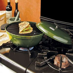Minden Master - Range-Top Indoor Grill How cool is this a grill for your stovetop!
