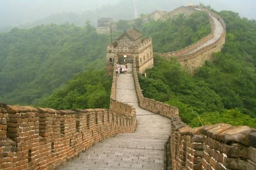 Great Wall in #China http://bit.ly/1OHelgB