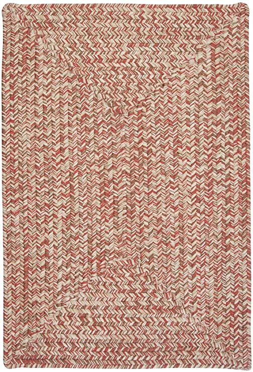 Corsica Rectangle Area Rug 4 By 6 Feet Porcelain Rose In 2020 Area Throw Rugs Porcelain Roses Colonial Mills