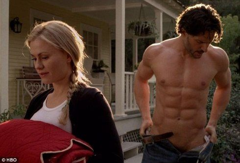 alcide @chasityhead this is probably my favorite screen shot of him. Yum!!