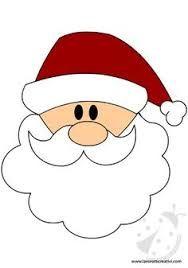 Resultado De Imagen Para Caras De Papa Noel Manualidades Navidenas Cara De Santa Claus Manualidades