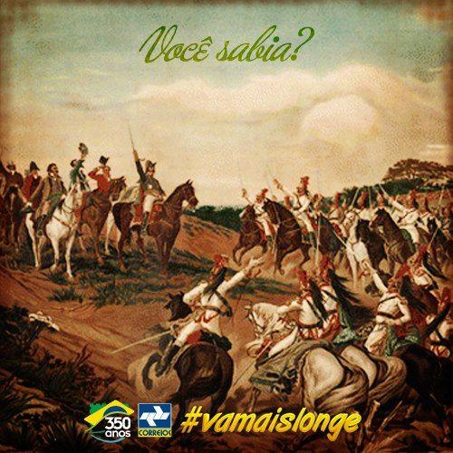 Você sabia que a independência do Brasil só foi declarada após D. Pedro I receber uma carta do mensageiro Paulo Bregaro? Hoje ele é considerado o Patrono dos Correios. Descubra outros fatos sobre o Brasil em nosso site.