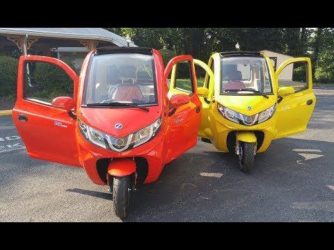 Elf Solar Car Bike For Driver 2 Kids Equals 1800mpg Youtube