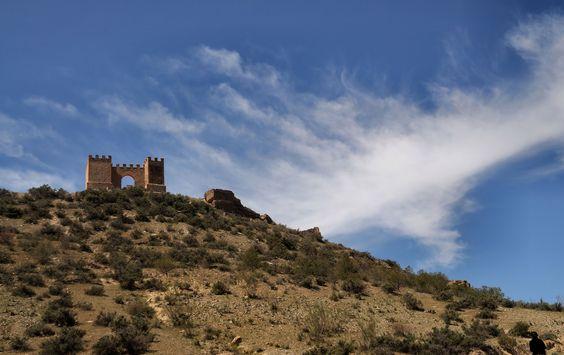 Tabernas castle, Almeria.