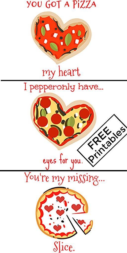 Valentine S Day Pizza Puns Funny Food Free Printables Ultimate Diy Guide To Valentines Day Puns Valentines Day Pizza Pizza Puns