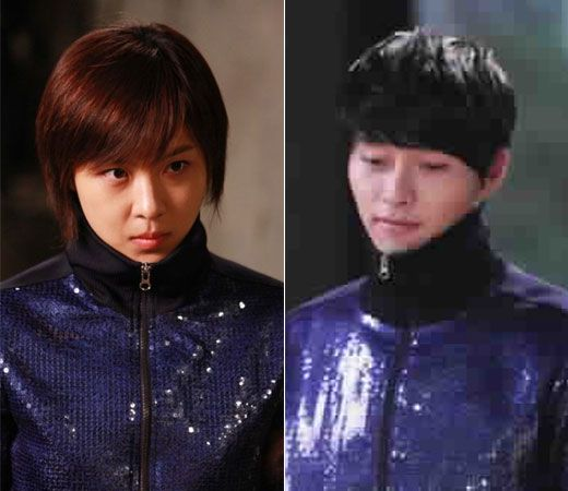 Secret Garden  Hyun Bin as Kim Joo Won and  Ha Ji Won as Gil Ra Im Come visit kpopcity.net for the largest discount fashion store in the world!!