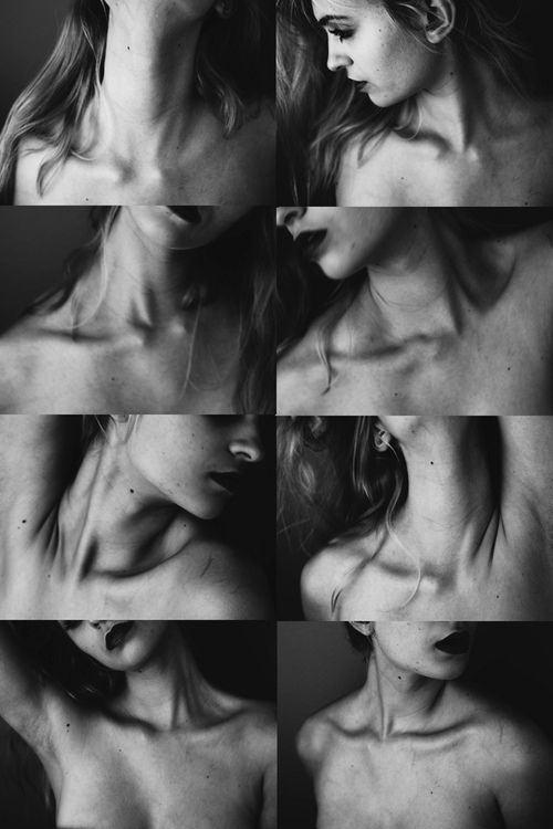 The beauty of a collarbone , not sure who the photographer is sorry