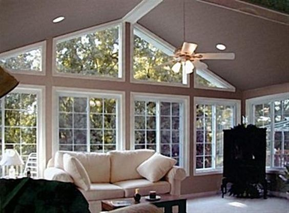 Sunroom additions room addition atlanta sunroom with for Large family living in small house