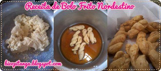 Dianne Nogueira: Receita de Bolo Frito Nordestino #food