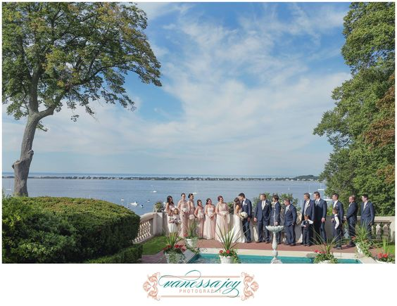 The Vanderbilt Mansion gives the perfect wedding water view.  http://goo.gl/lQF5Er