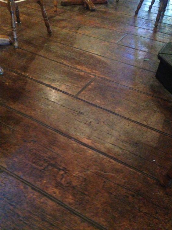 Stamped concrete floors for my dream house sunroom my for Solarium flooring