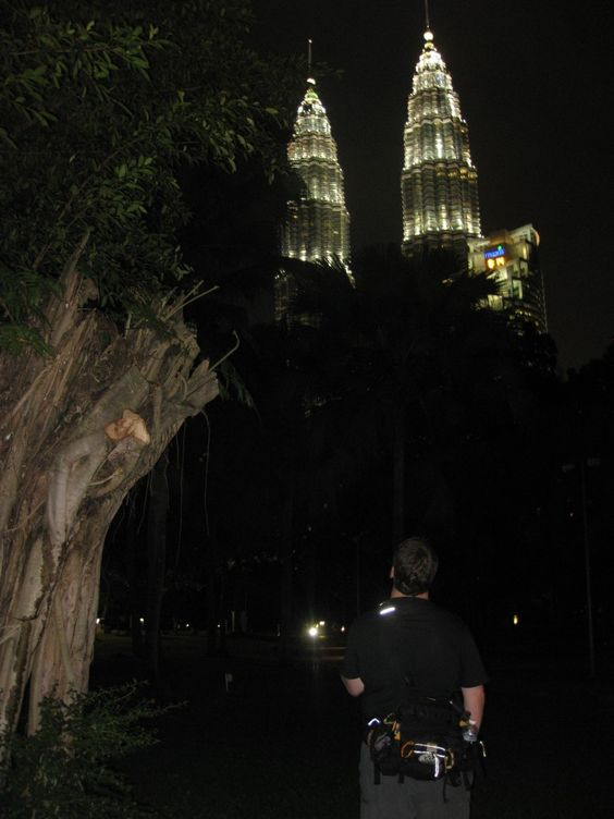 Petronas Towers Geocache - a Walk in The Park - Peanuts or Pretzels - Travel Blog