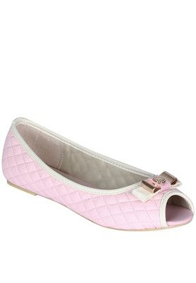 Pink Peep Toes Price: Rs 899