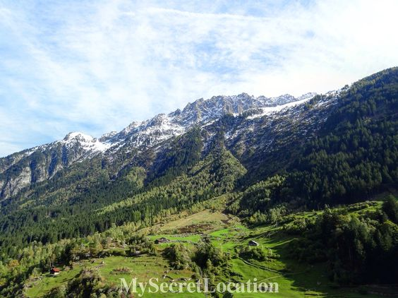 Alps in Switzerland.  #Swiss #Swissalps #mountains #snow #greengrass #trip #travel #travelblog #beautiful #vacation #ticino #mysecretlocation