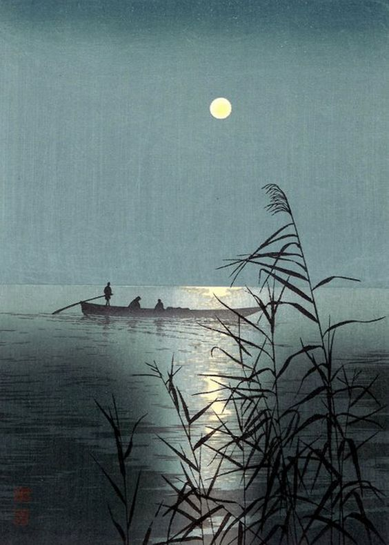 Shoda Koho, Moonlit Sea, c. 1920.