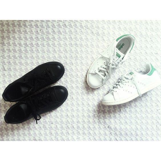 """Winter trainers vs Spring trainers. #mellerobotshoes"""