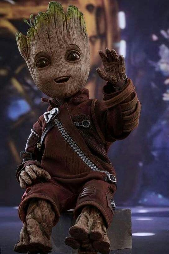 Lil Groot From Guardians Of The Galaxy Marvel Baby Groot