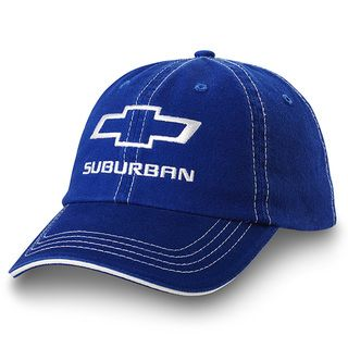 Chevrolet Suburban Royal Blue Twill Hat