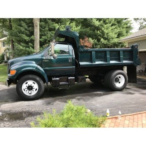 2000 Ford F650 Dump Truck For Sale In Johnston Rhode Island 02919