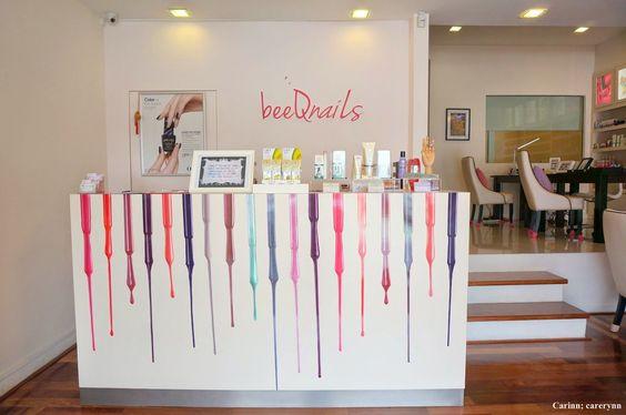 Carinn; carerynn | Malaysia Fashion, Beauty & Lifestyle Blog: Nail-art: Mani-pedi @ BeeQ Nails Salon!
