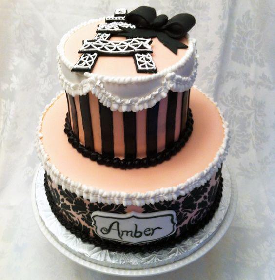 Amber Birthday Cake