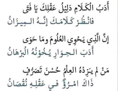 Pin By Essam Sayed Mohamed On Arabic Wisdom Wisdom Math Arabic