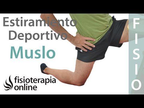 músculo en la parte frontal del muslo